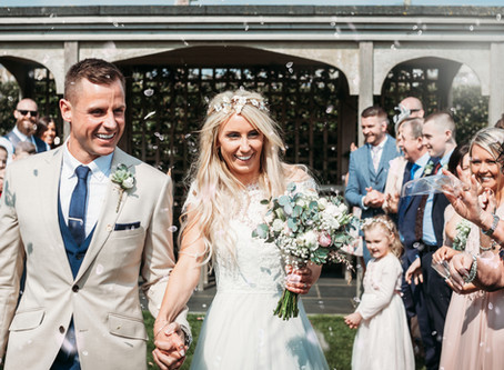 REAL WEDDINGS | Nikki & Carl - Love by the Harbour
