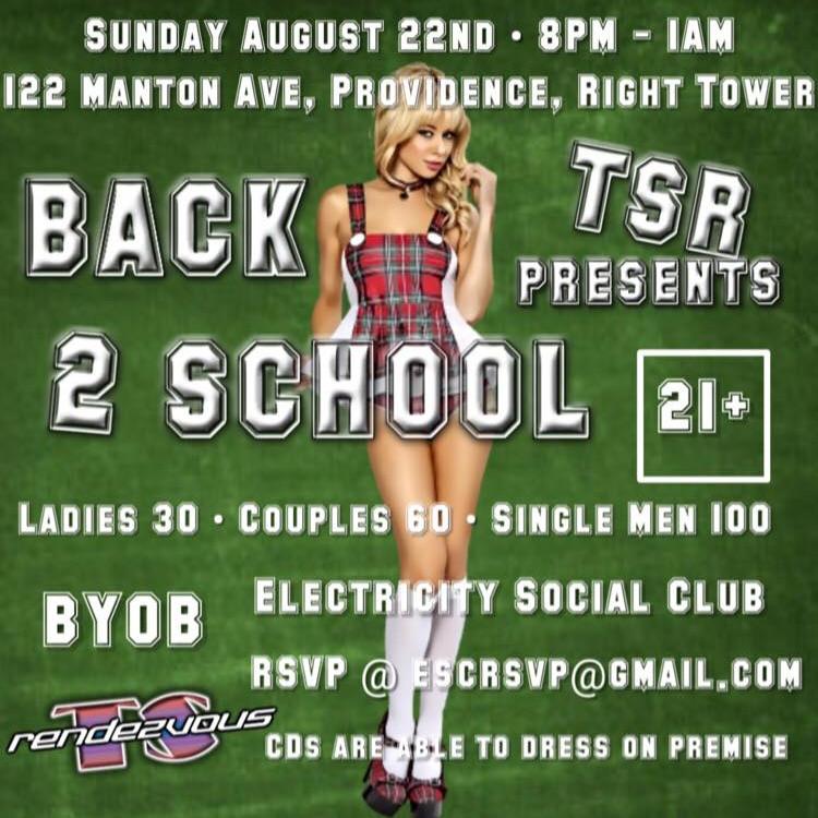 TS Rendezvous  - Back 2 School