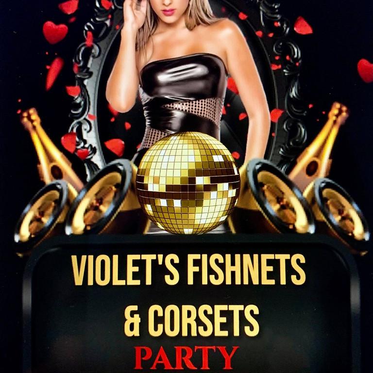 Violet's Fishnets & Corsets