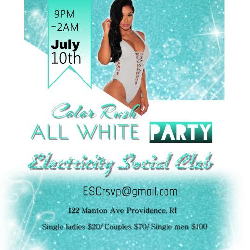 Color Rush: White Party