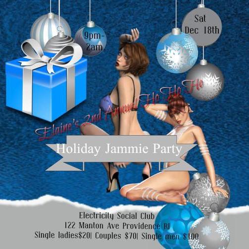Elaine's 2nd Ho Ho Ho Holiday Jammie Party