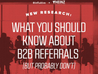 86 Percent of Companies with B2B Referral Program See Growth, Study Says