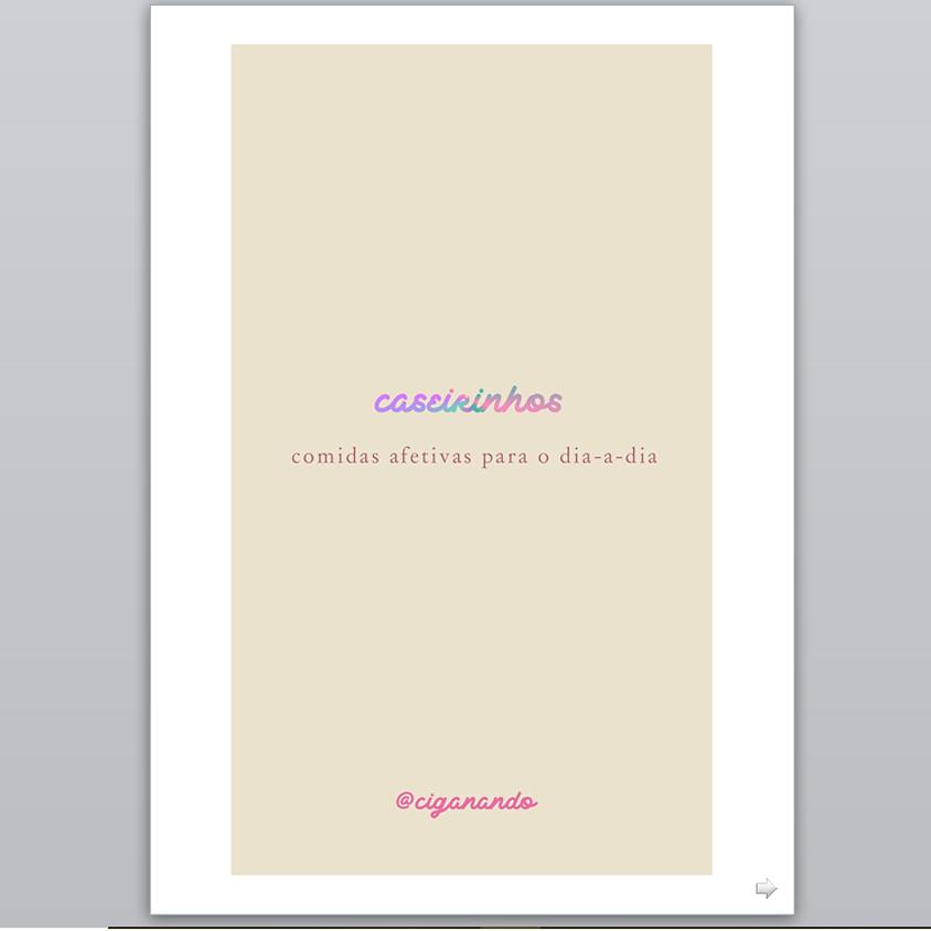 e-book: Caseirinhos ❥