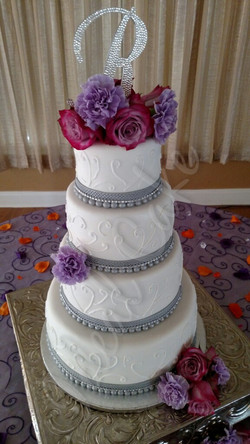 Real Flowers, piping