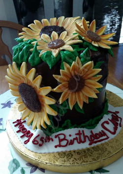 Sunflowers for 65