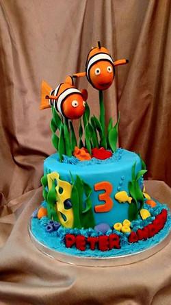Finding Nemo, Under the sea