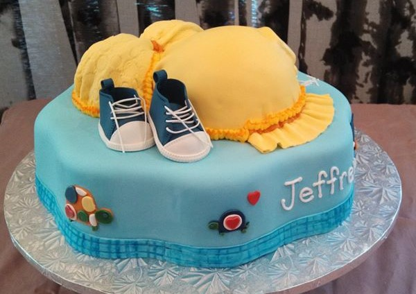 Belly Cake with Sneakers