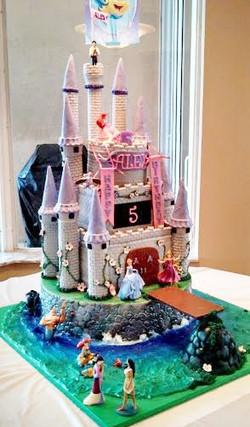 Ariel's Castle with Princesses