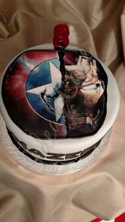 Superheros Capt America & Ironman
