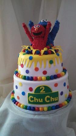Elmo, Cookie Monster, Sesame Street