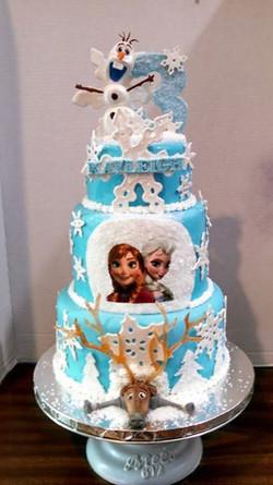 Frozen, Sven, Elsa, Anna, Olaf