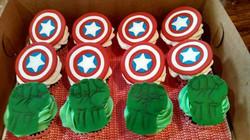 Superheroes, Hulk, Capt America