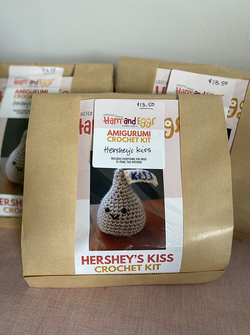 Amigurumi Crochet Kit-Hershey's Kiss