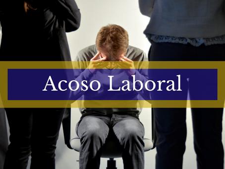 DEL ACOSO LABORAL SUFRIDO POR UNA FUNCIONARIA, ATRIBUIBLE AL JUEZ DEL DESPACHO.