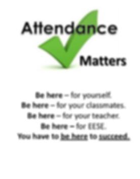 Importance of attendance