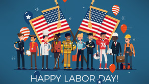 We will be closed for Labor Day