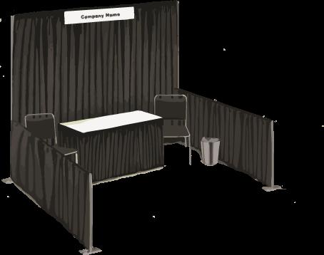 1 Vendor Booth