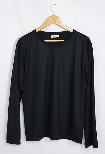 VÊ • camiseta preta unissex