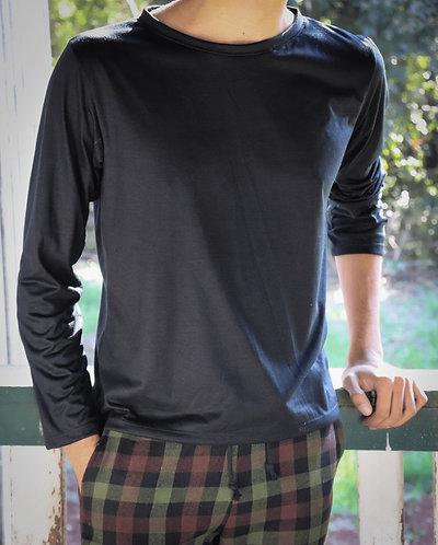 CANOA • camiseta preta unissex
