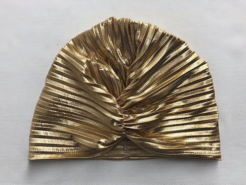 dourado • turbante fechado