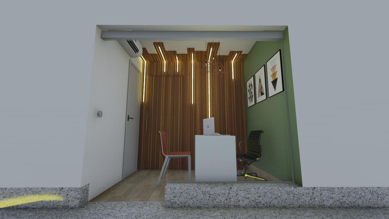 Entrada da sala / recepção interna