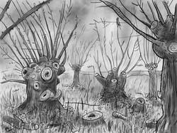 fen trees [iPad drawing]