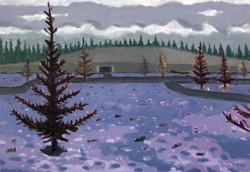 bunker memory [oil on canvas]