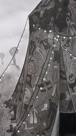 dusk tent [detail]