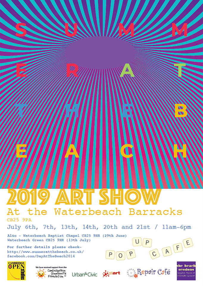 If your around in Cambridgeshire this July there an exhibition I help organise, with 11 other artist
