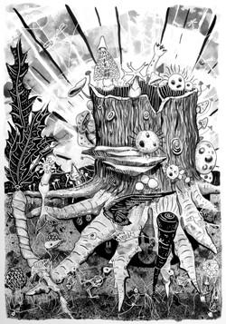 stump [ink on paper]