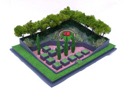 garden model for chelsea flower show