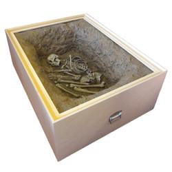burial in a box