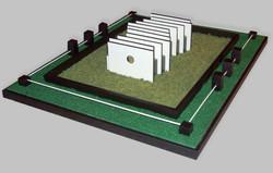 garden model for hampton court