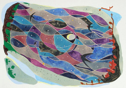 season flight [watercolour on paper]