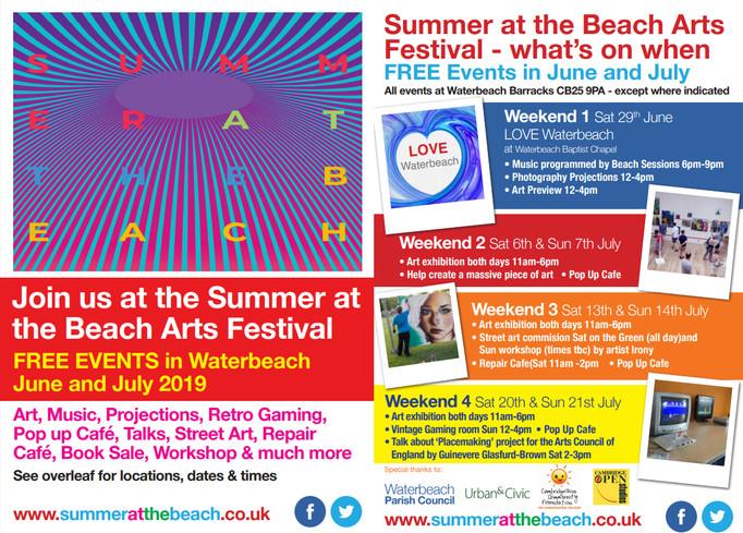 Summer at the Beach flyer