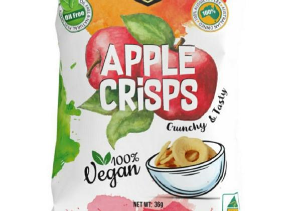 Natural Dried Apple Crisps (36g)