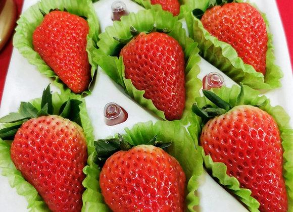 [1 box] Farm Fresh Milk Strawberries