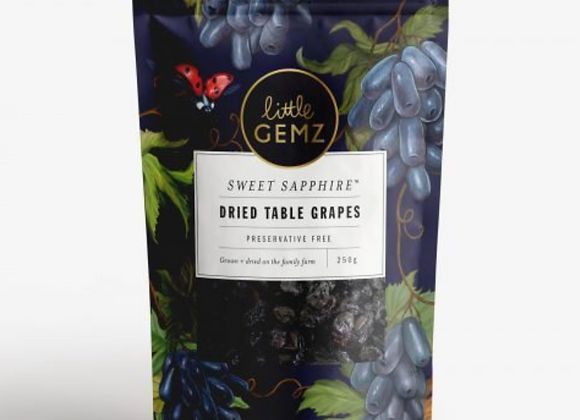 Natural Sweet Sapphire Dried Table Grapes (250g)
