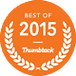 2015 Best of Thumbtack. Book Us Today!