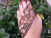 All Natural Henna made fresh for each event!