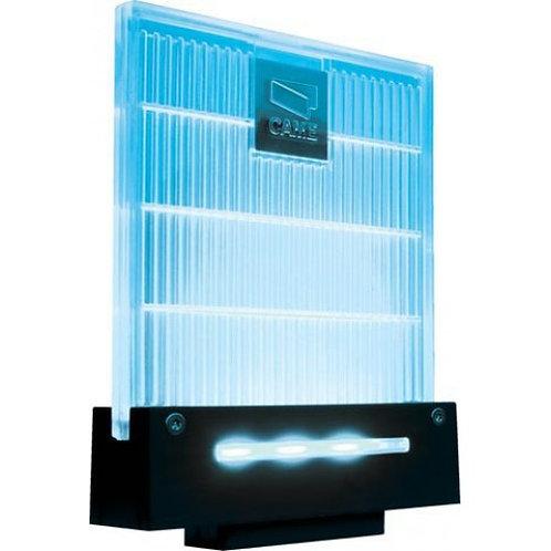 Сигнальная лампа универсальная 230/24 В,светодиодное освещение синего цвета. Нов