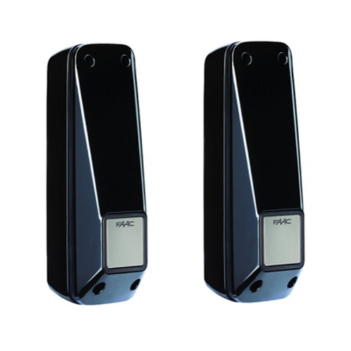 Фотоэлементы XP20W D настенные, пара: приемник и передатчик