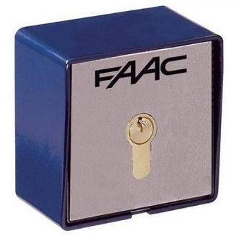 Ключ выключатель Т20 Е, монтаж на стену с одним микровыключателем