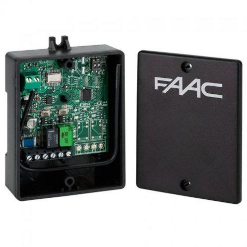Радиоприемник 2-канальный внешний универсальный XR 433 МГц память на 250 пультов