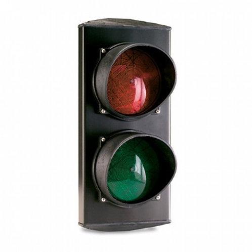 Светофор светодиодный, 2-секционный, красный-зелёный, 24 В.