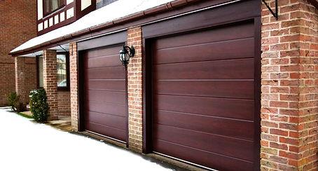 Ворота подъемно-секционные в гараж