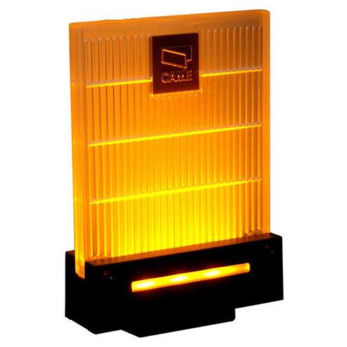 Сигнальная лампа универсальная 230/24 В,светодиодное освещение янтарного цвета.