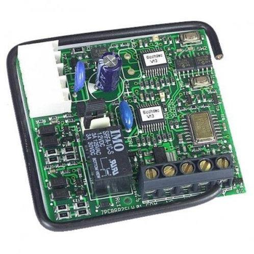 Радиоприемник 1-канальный встраиваемый в разъем RP 868 МГц  память на 250 пульт