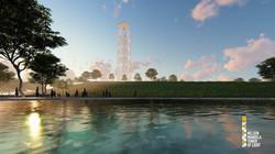 THE NELSON MANDELA TOWER OF LIGHT