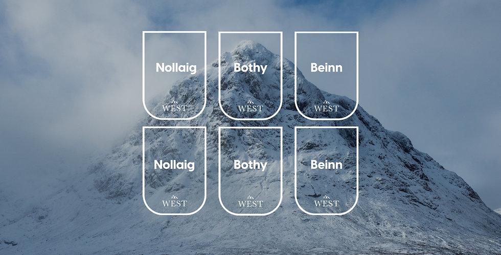 Hebridean Winter Gift Pack x 6